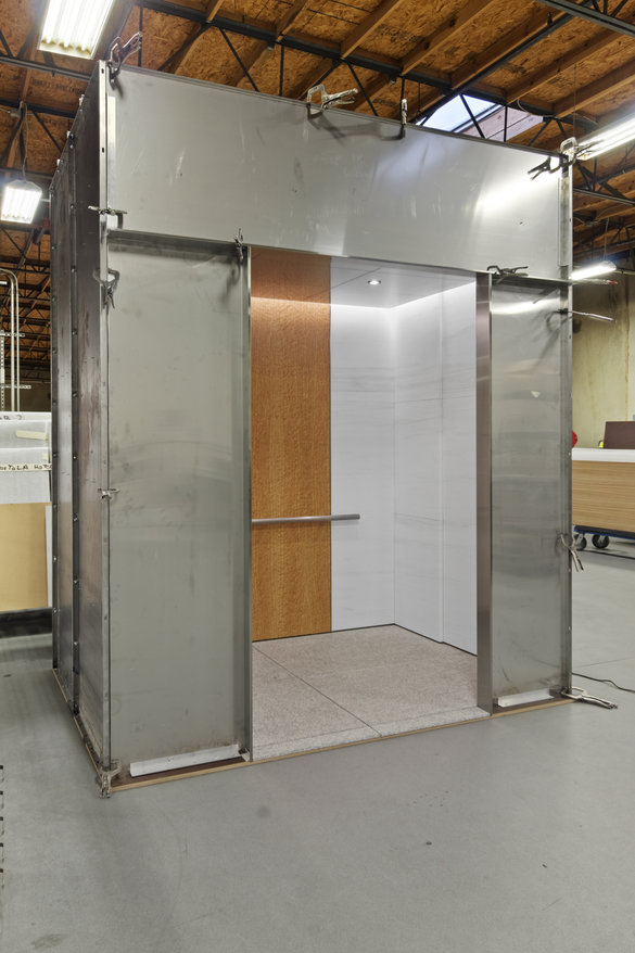 50 beale street elevator interior