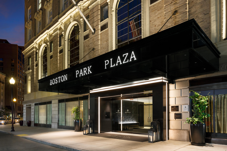 boston park plaza exterior